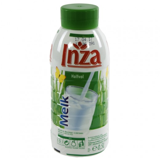 Inza Melk pet  Halfvolle  500 ml   Fles