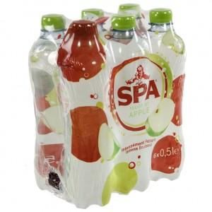 Spa Touch of PET  Appel  50 cl  Pak  6 st