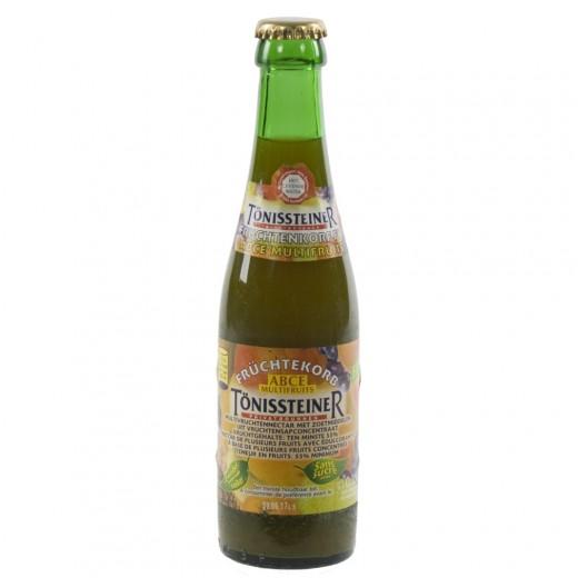 Tonissteiner limo  Vruchtenkorf  25 cl   Fles