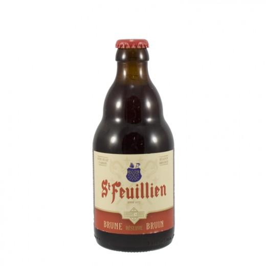St Feuillien  Bruin  33 cl   Fles