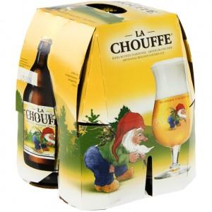 Chouffe bier  Blond  La Chouffe  33 cl