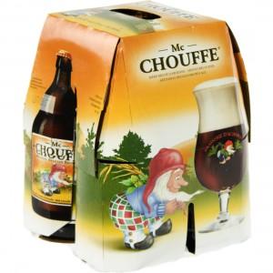 Chouffe bier  Bruin  Mc Chouffe  33 cl