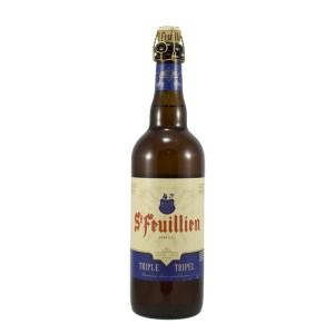 St Feuillien  Tripel  75 cl   Fles