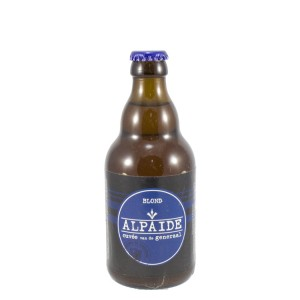 Alpaïde hoegaardsbier  Blond  33 cl   Fles