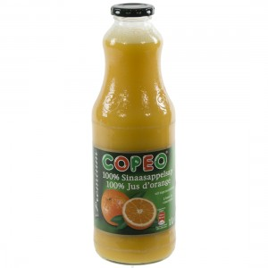 Copeo fruitsap  Sinaas  1 liter   Fles