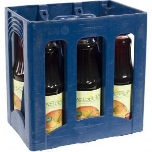 Weldenhof fruitsap  Appel Kriek  1 liter  Bak  6 fl
