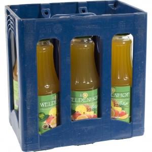 Weldenhof BIO fruitsap  Multi  1 liter  Bak  6 fl
