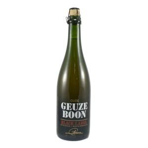 Boon Gueuze Black Label  Blond  75 cl   Fles