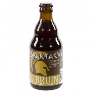 Spartacus  Bruin  33 cl   Fles