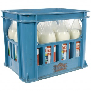 Inza Melk  Volle  1 liter  Bak 12 fl