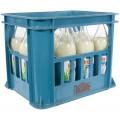 Inza Melk  Magere  1 liter  Bak 12 fl