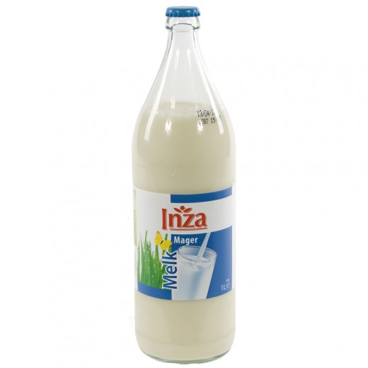 Inza Melk  Magere  1 liter   Fles