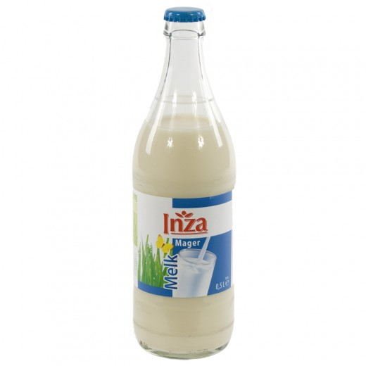 Inza Melk  Magere  50 cl   Fles