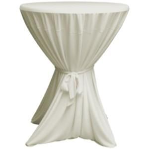 Statafelrok met strik excl. tafel  Beige
