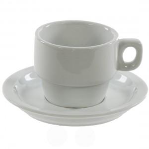 Koffietas + ondertas bak 25 stuks