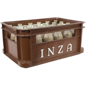 Inza Chocomelk  Halfvolle  20 cl  Bak 24 st