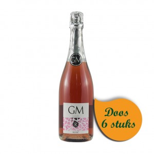 Cava GM Brut  Rose  75 cl  Doos  6 st
