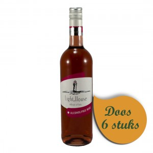 Light House  Rose  75 cl  Doos  6 st