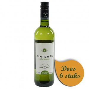 Vintense 0%  Chardonnay  75 cl  Doos  6 st