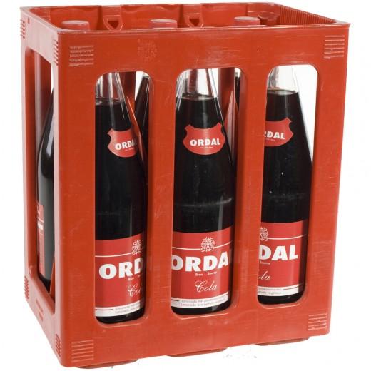 Ordal Cola  1 liter  Bak  6 fl