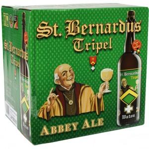St Bernardus  Tripel  75 cl  Doos 12 st