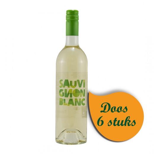 Sauvignon Blanc Fairtrade  Wit  75 cl  Doos  6 st