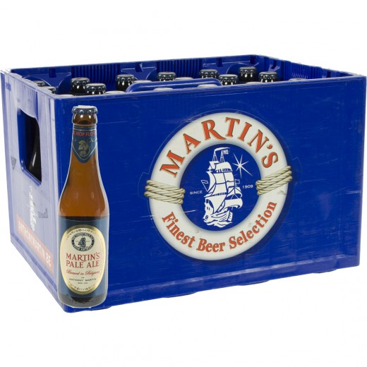 Martin's Pale Ale  Amber  33 cl  Bak 24 st