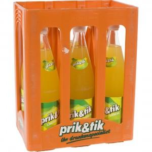 Prik & tik limo  Lemon  1 liter  Bak  6 fl