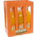 Prik & tik limo  Orange  1 liter  Bak  6 fl