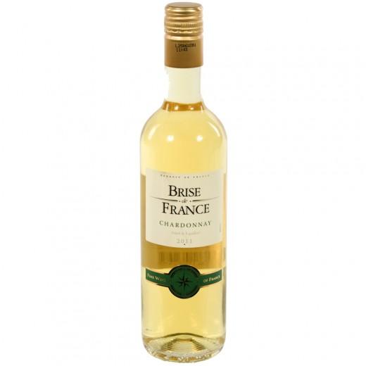 Brise de France VDP d' Oc Chardonnay 13.5%  Wit  50 cl   Fles