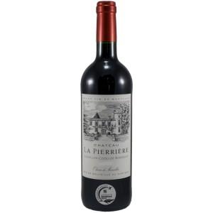 Château La Pierriere  Rood  75 cl   Fles