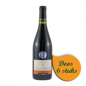 """Côtes du Rhône """"Domaine Les Argelas""""  Rood  75 cl  Doos  6 st"""