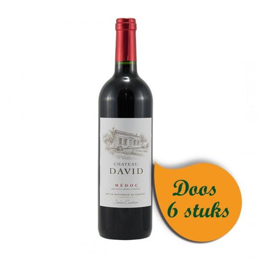 Chateau David  Rood  75 cl  Doos  6 st