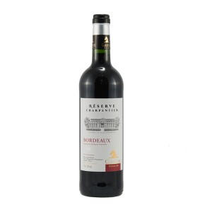 Gaston Bordeaux Res. Charpentier  Rood  75 cl   Fles