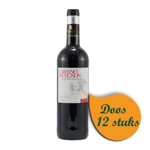 Gaston Borries Cabernet Sauvignon  Rood  75 cl  Doos  6 st