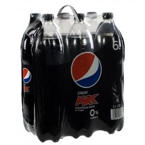 Pepsi PET  Max  1,5 liter  Pak  6 st