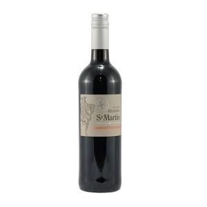 St Martin Cabernet Sauvignon 12.5%  Rood  75 cl   Fles