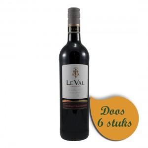Leval Cabernet Sauvignon  Rood  75 cl  Doos  6 st