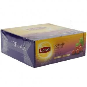 Lipton every day Rozenbottel prof.  Doos 100 st