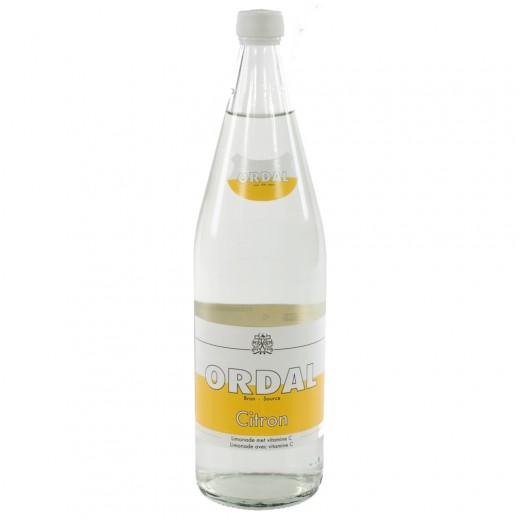 Ordal limonade  Citroen  1 liter   Fles