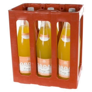 Ordal limonade  Orange Fit  1 liter  Bak  6 fl