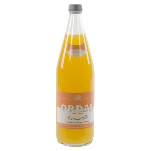 Ordal limonade  Orange Fit  1 liter   Fles