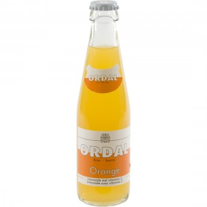 Ordal limonade  Orange  20 cl   Fles