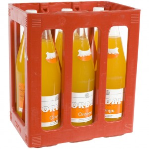 Ordal limonade  Orange  1 liter  Bak  6 fl