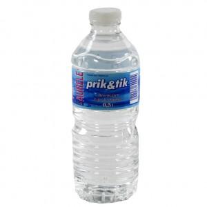 Prik & Tik Aurele bronwater pet  Plat  50 cl   Fles