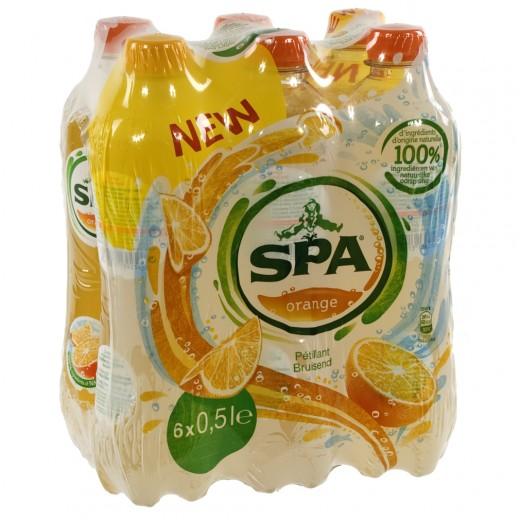 Spa limonade PET  Orange  50 cl  Pak  6 st
