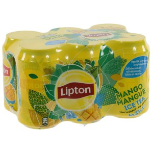 Lipton BLIK  Mango  33 cl  Blik  6 pak