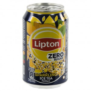Lipton BLIK  Zero sugar  33 cl  Blik