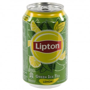 Lipton BLIK  Green Lemon  33 cl  Blik