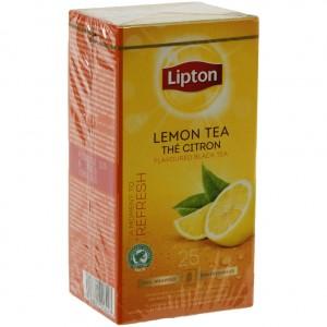 Lipton every day citroen (lemon) prof.  Doos 25 st